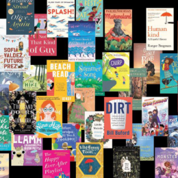 A collage of dozens of book covers