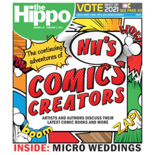 The continuing adventures of NH's comic creators
