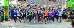 Superbowl football marathon run