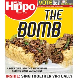 Hippo cover steak bomb sub