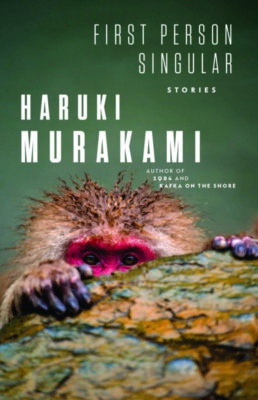 Book cover with monkey
