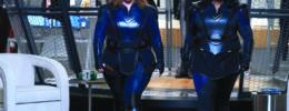 super hero movie scene women