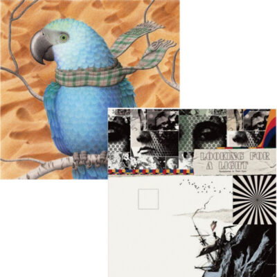 two album covers