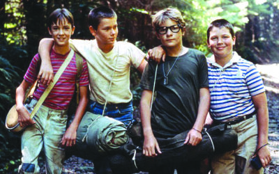 Scene from movie Stand By Me