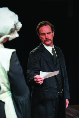 actor playing Watson in a play