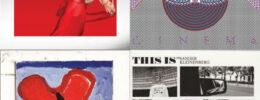 collage of 4 album covers