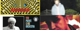 collage of four album covers