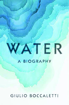cover of Water, the Biography