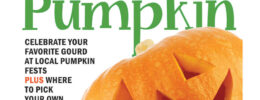 cover of weekly paper showing jack o lantern