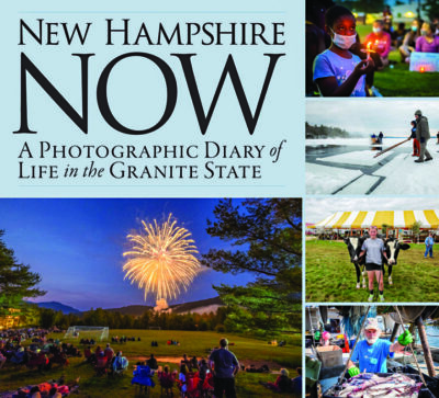 cover of book showing photographs of life in New Hampshire